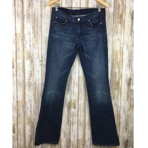 7FAM dark wash Bootcut Jeans size 29